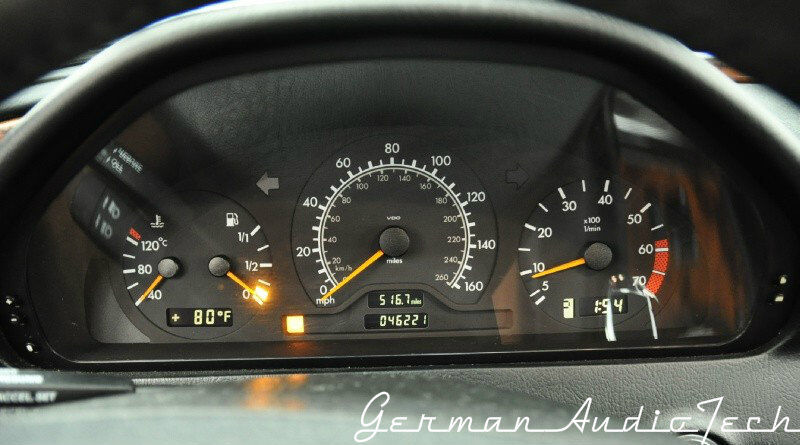 Mercedes benz w208 clk320 clk430 dash instrument cluster for Mercedes benz cluster repair
