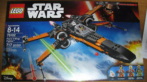 Lego Star Wars Poe's X-wing fighter building set for sale