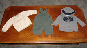 Baby Clothes, Osh Kosh, and Baby Gap size 3 to 12 Months