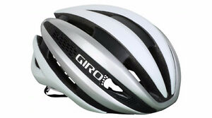 CASQUE GIRO SYNTHE NEUF LARGE MATT/WHITE  59/63 CM