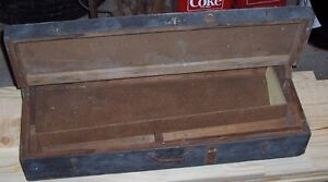 Old wooden tool box – ONLY $20