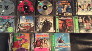 Playstation 1 and PSP Games