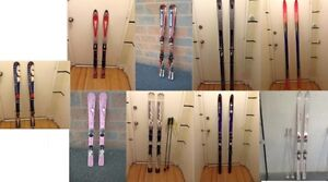 Collection of Alpine/Downhill Skis