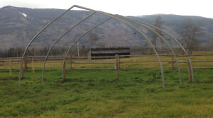 Used 25' x 120' Harnois Greenhouse Structures