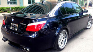 """2007 550i,M5 Package,4 Exhaust,Head up Display,20"""",Sunroof,410HP"""