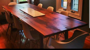 PRICE DROP...NEED GONE ASAP! EUC  Wood Dining Table