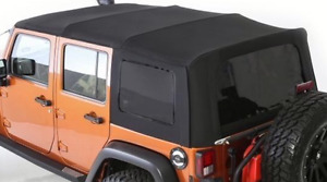 Jeep Wrangler Soft Top Upgraded Factory mint condition