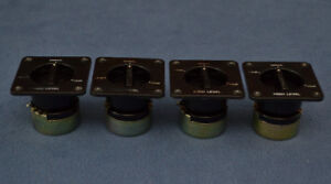 Set of 4 Genuine Yamaha Speaker L-Pads, L-Pots, Level Controls