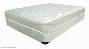 MATTRESS + BOX ORTHOPAEDIC SALE FROM - $199 & FRAME $49 ONLY