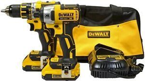 Dewalt DCK281D2 20V MAX* XR Lithium Ion Brushless Compact Drill