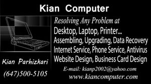 Laptop and computer repair specialist Toronto