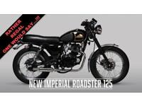 2018 MUTT NEW IMPERIAL ROADSTER 125***NEW FOR 2018***
