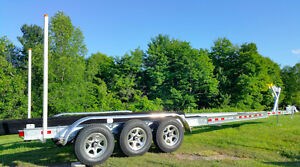 new 2016 TRIPLE-AXLE ALUMINIUM TRAILER fits 27'-31' BOAT !!!