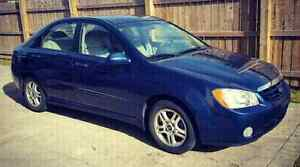 2005 Kia Spectra Ex selling as is or if for parts!