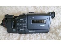 CanonE400 8mm Video Camcorder