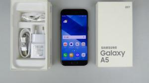 BRAND NEW** Black Samsung A5!