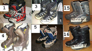 SNOWBOARD BOOTS, SNOW BOARDING BOOTS