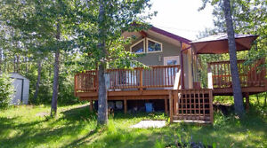 Birtle's Riverside Cabin ***** Rent by the Day, Week, or Month!!
