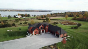 Prestigious property on 36 AC land with access to Lake Champlain