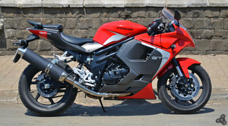 Hyosung GT125R - Fast Reliable 125cc Motorcycle on Finance