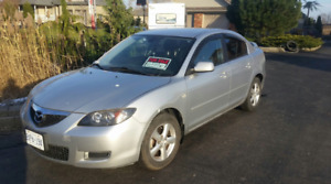 2008 Mazda 3 | Very Low Km! | Great For Winter Driving.