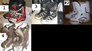 SNOWBOARD BOOTS CLEARANCE ALL ARE USED
