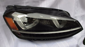 PAIR OF VW GOLF HEADLIGHTS USED OEM 14 - 16 - $ 100 FOR BOTH