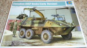 Trumpeter 1/35 Canadian AVGP Husky 6x6 Early Version