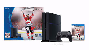PS4 with NHL 16 for Sale