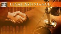 Offering legal Assistance.