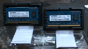 2 x 2GB (4GB) of 1600MHz DDR3  iMac/Laptop Ram
