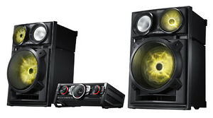 Perfect condition party speakers