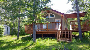 Birtle's Riverside Cabin - Birtle, MB  Rent - Day, Week,or Month