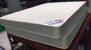"""NEW  Queen 60""""x78"""", 7.5""""Thick Dual Sided Coil Mattress Only$240"""