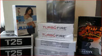 P90X3- T25 -TURBO FIRE - INSANITY -CHALEANE EX - FROM $25-$45.00
