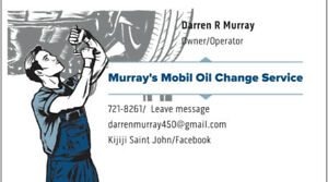 Murray's Mobil Oil Change Service