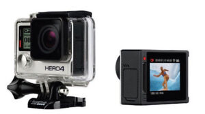 GoPro 4 Hero Silver with Screen