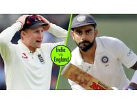 India Vs England tickets for £55 at Lords 4th day Test Match