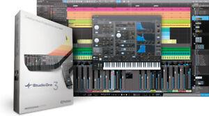 Studio One 3 Professional Recording Software License Transfer