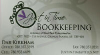 Just in Time Bookkeeping accepting new clients!