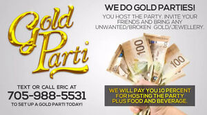 Gold Parti - We Buy Your Gold