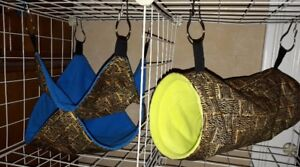 CUSTOM AND READY MADE SMALL PET HAMMOCKS!