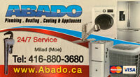 ABADO Plumbing , Heating , Cooling , and Air Conditioning