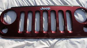 New Grill for 2008 Wrangler Unlimited Sahara Jeep
