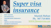 Supervisa & Visitor Insurance quotes 587-718-8001