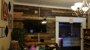 Exclusive! 10% off Reclaimed Wood Accent Wall! Cambridge Kitchener Area image 6