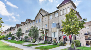 Townhouse for Rent in High Demand Community in Markham
