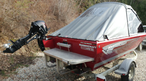Harbercraft serious angler boat 4 sale
