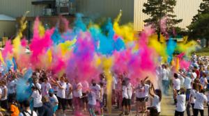 Brantford BURST 2018 Colour Fun Run!