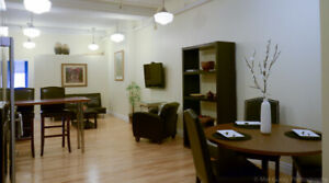 Fully Furnished one bedroom apartment downtown
